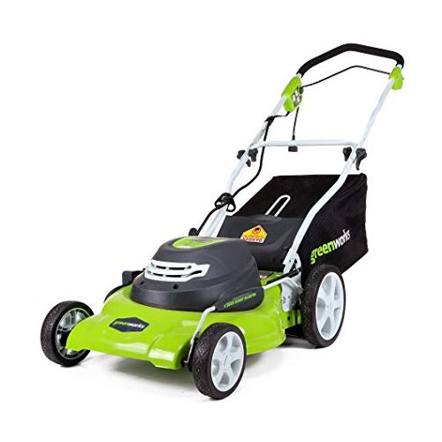 GreenWorks 25022 12 Amp 20-Inch Corded Lawn Mower