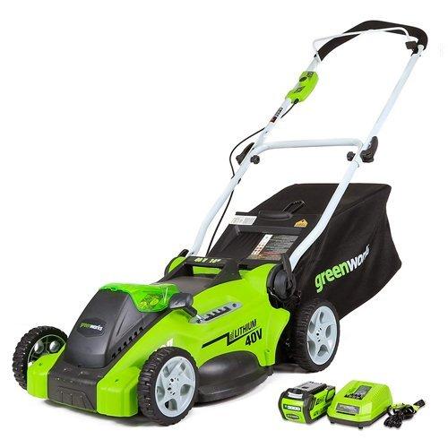 Greenworks 16-Inch 40V Cordless Lawn Mower 25322