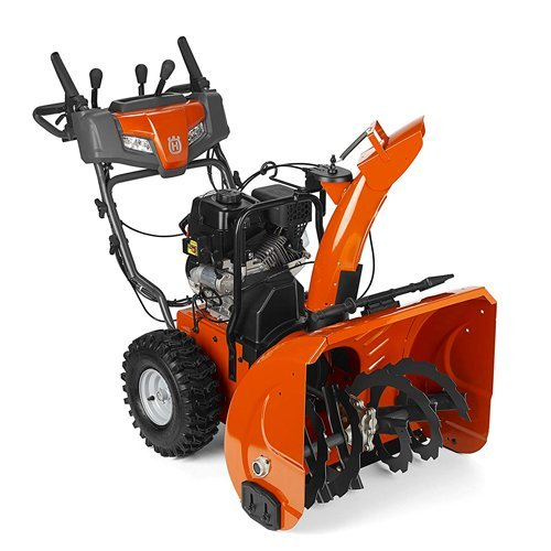 Husqvarna ST224P 24 in. 208cc Two-Stage Gas Snow Blower with Power Steering and Electric Start