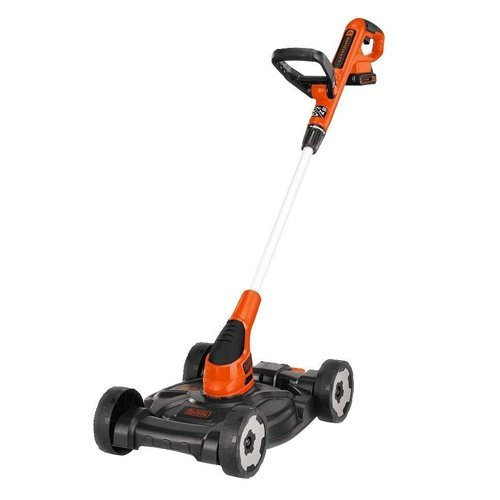 Black & Decker MTC220 12-Inch Lithium Cordless 3-in-1 Trimmer/Edger and Mower