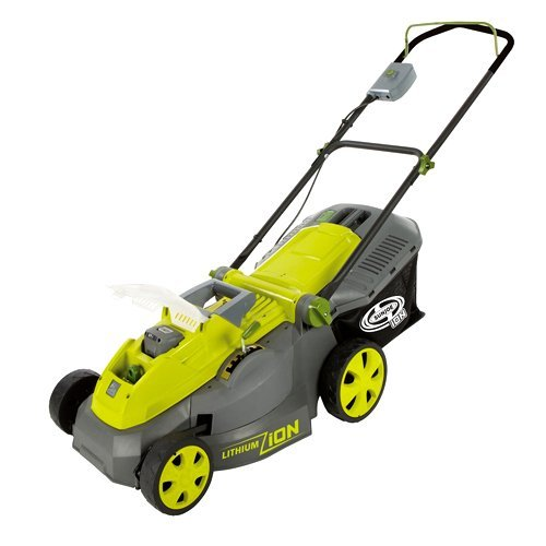Sun Joe iON 40V Cordless iON16LM 16-Inch Lawn Mower with Brushless Motor