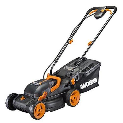 WORX WG779 14-Inch 40 Volt 2 in 1 Cordless Lawn Mower