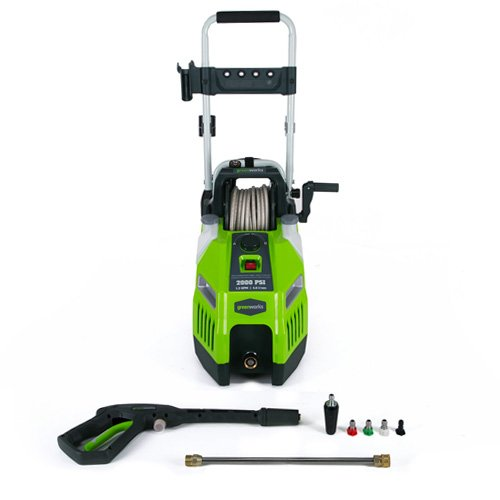 GreenWorks GPW2001 2000 Psi 13 Amp Electric Pressure Washer