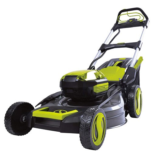 Sun Joe iON100V 21 inch Battery Powered Self-Propelled Lawn Mower