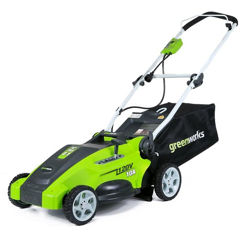 GreenWorks 25142 Corded Lawn Mower